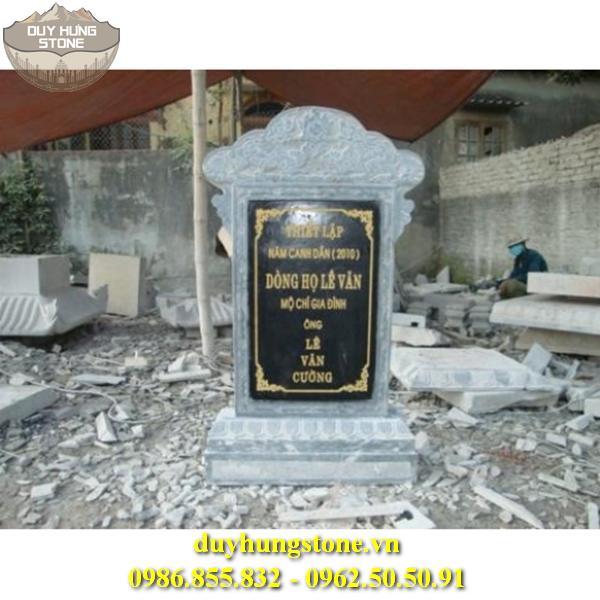 Bia mộ đá D12