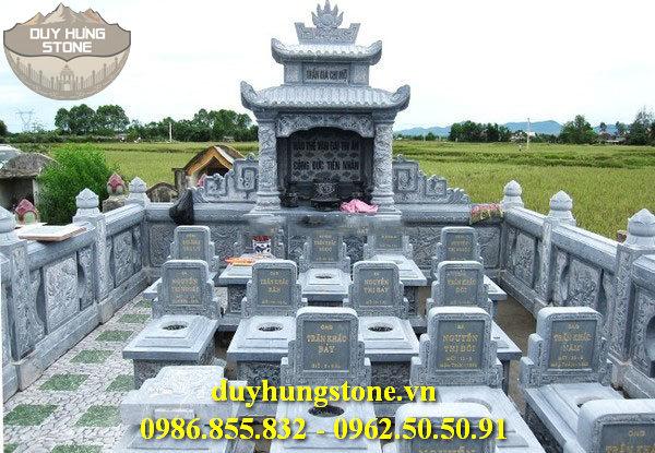 Mẫu lăng mộ đá ninh bình 14