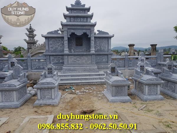 Mẫu lăng mộ đá ninh bình 30