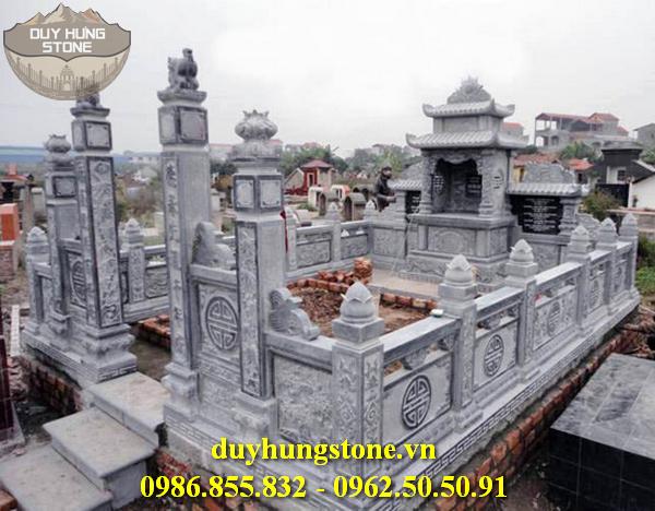 Mẫu lăng mộ đá ninh bình 32
