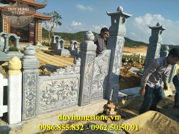 Mẫu lăng mộ đá ninh bình 33
