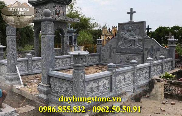 Mẫu lăng mộ đá ninh bình 61