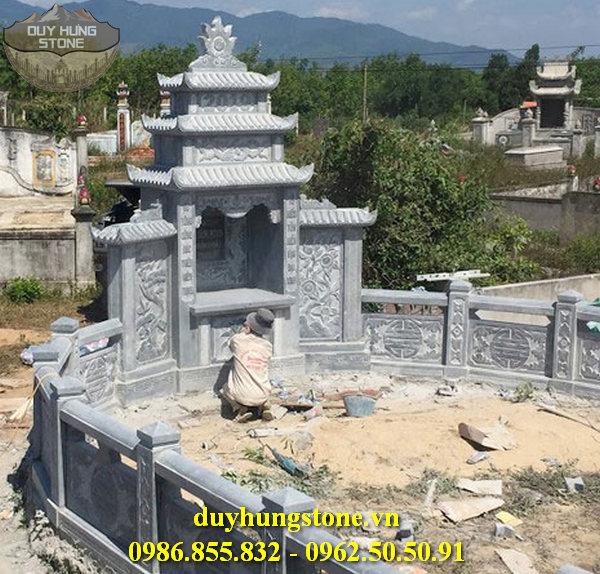 Mẫu lăng mộ đá ninh bình 66