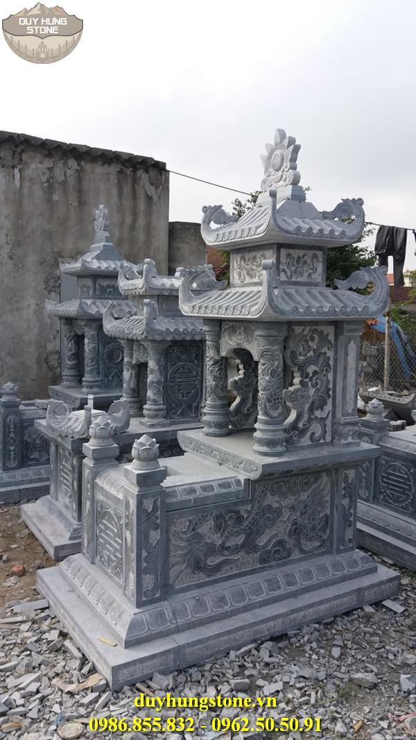 Mẫu mộ đá hai mái ninh bình 25