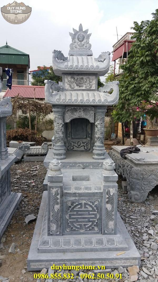 Mẫu mộ đá hai mái ninh bình 28