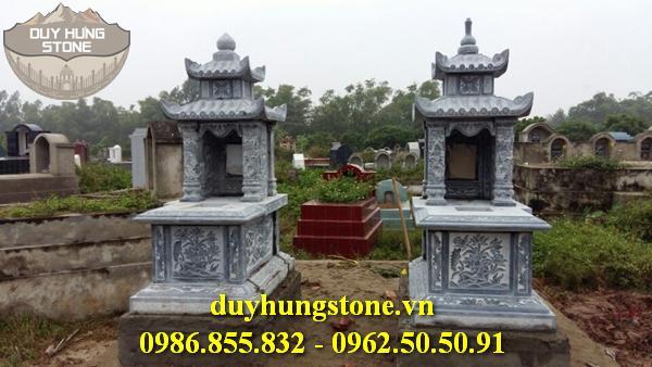 Mẫu mộ đá hai mái ninh bình 37