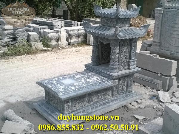 Mẫu mộ đá hai mái ninh bình 43