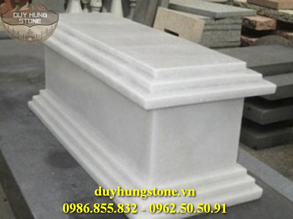 Mộ đá trắng cao cấp 7