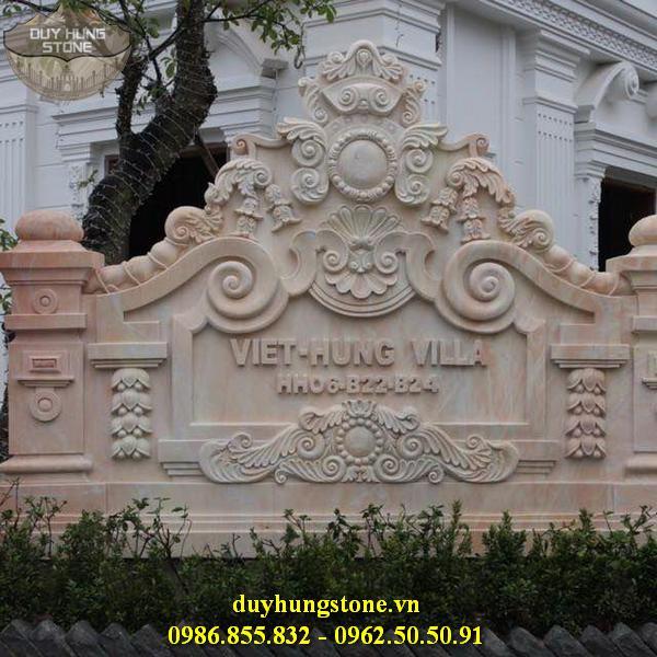thiết kế biển hiệu công ty bằng đá nguyên khối đẹp 11