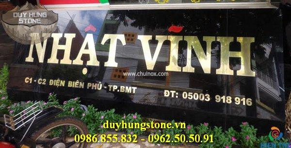 thiết kế biển hiệu công ty bằng đá nguyên khối đẹp 18