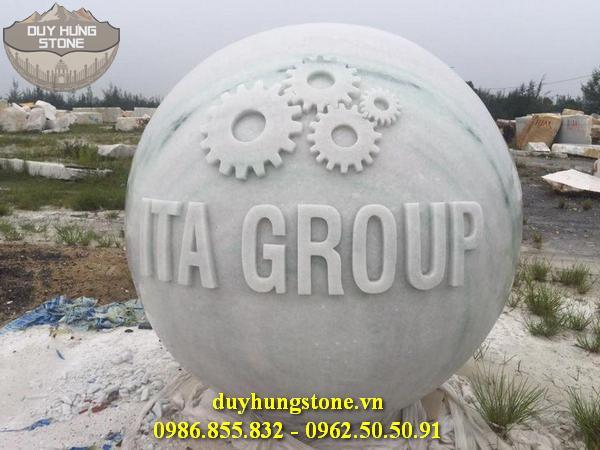 thiết kế biển hiệu công ty bằng đá nguyên khối đẹp 2