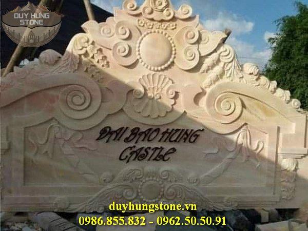 thiết kế biển hiệu công ty bằng đá nguyên khối đẹp 24