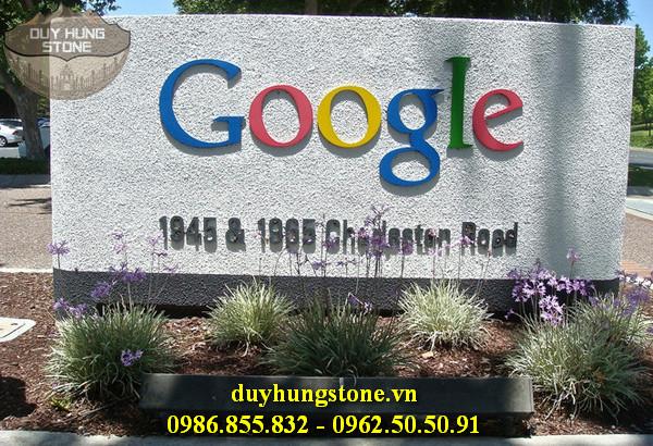 thiết kế biển hiệu công ty bằng đá nguyên khối đẹp 28