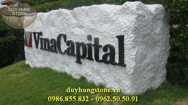 thiết kế biển hiệu công ty bằng đá nguyên khối đẹp 34