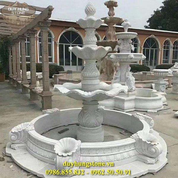 mẫu đài phun nước số 35