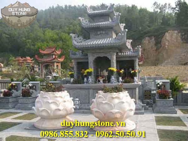 lăng thờ tam quan bằng đá 6