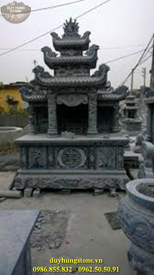 lăng thờ tam quan bằng đá 7