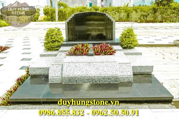 Mẫu mộ đá mang phong cách hiện đại 14