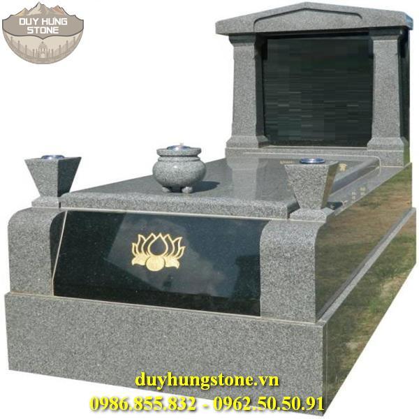 Mẫu mộ đá mang phong cách hiện đại 6