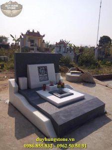 Mẫu mộ đá mang phong cách hiện đại 7