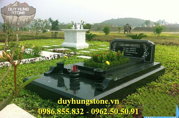 Mẫu mộ đá mang phong cách hiện đại 8