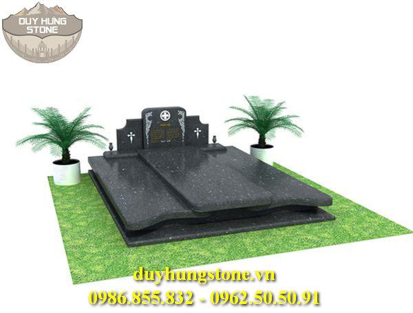 Mẫu mộ đá mang phong cách hiện đại 9