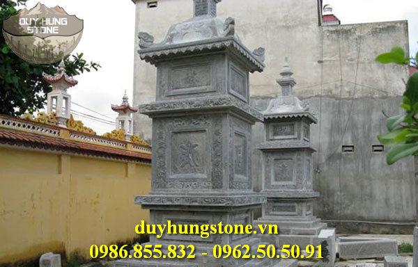Mộ đá hình tháp phật giáo đẹp 18