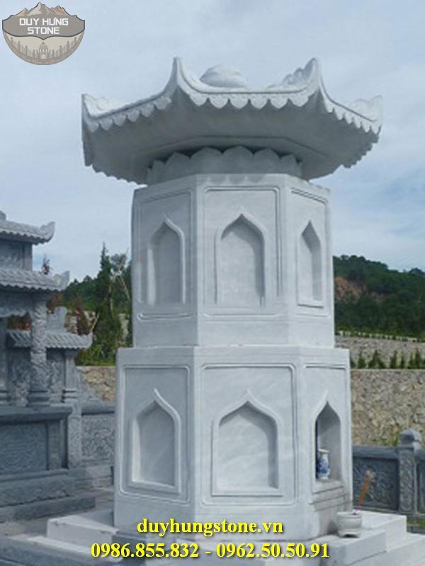 Mộ đá hình tháp phật giáo đẹp 25