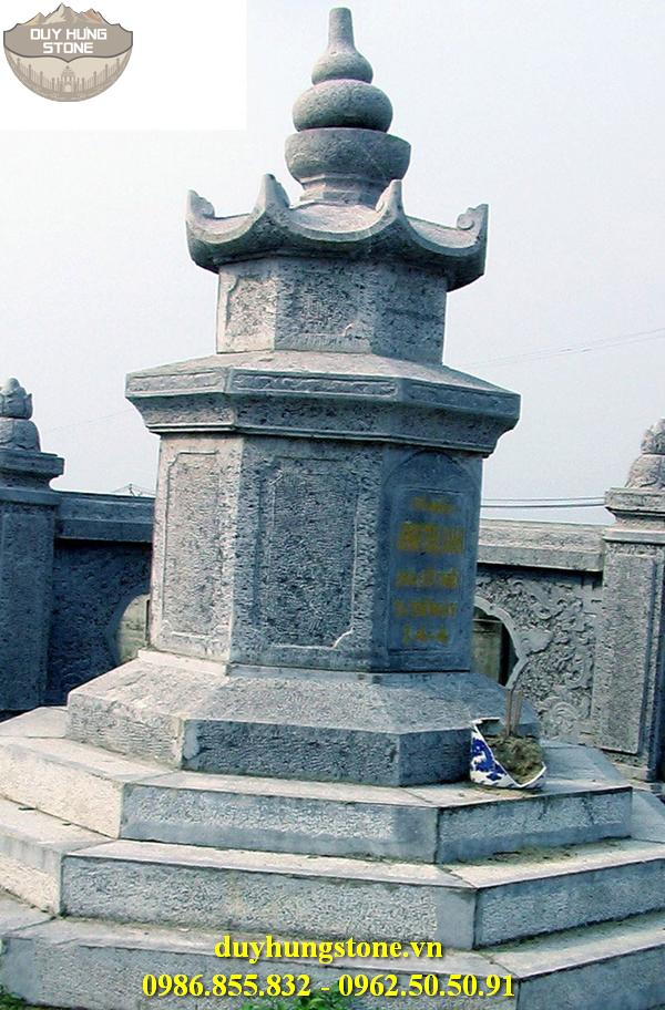 Mộ đá hình tháp phật giáo đẹp 28