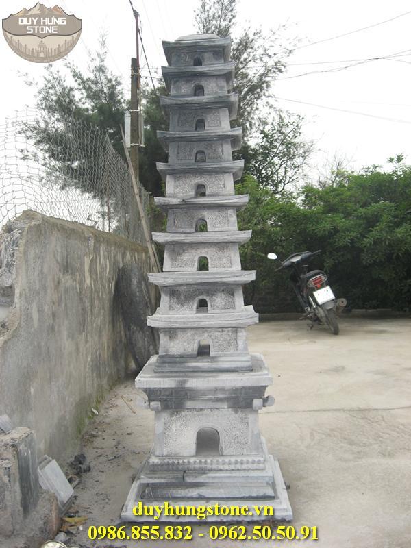 Mộ đá hình tháp phật giáo đẹp 38