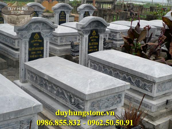 Mộ đá mái vòm ninh bình đẹp nhất 10
