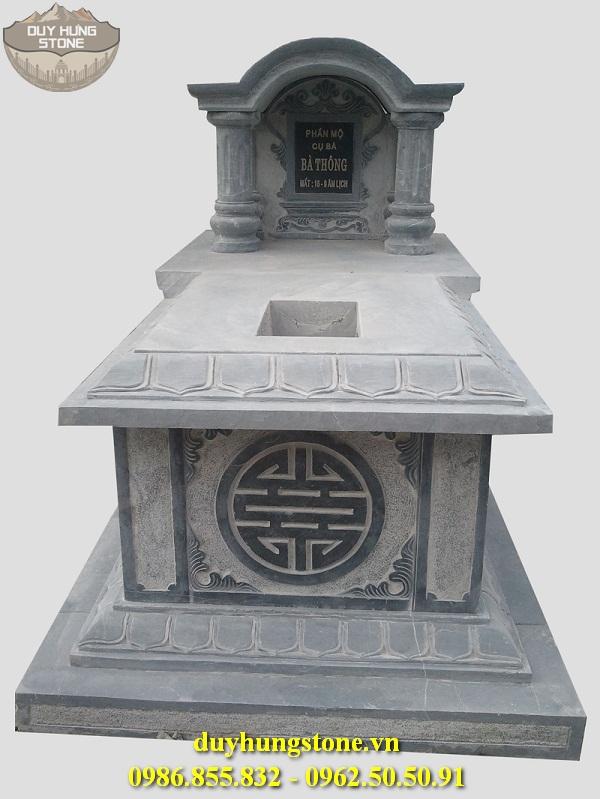 Mộ đá mái vòm ninh bình đẹp nhất 3