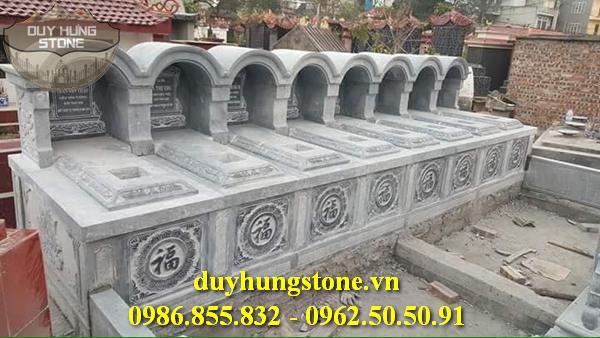 Mộ đá mái vòm ninh bình đẹp nhất 44