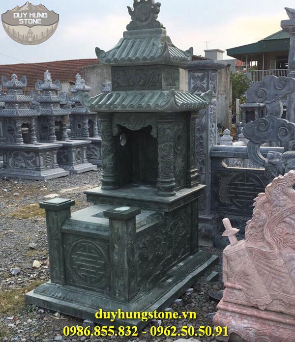 Mộ đá xanh rêu đẹp 2