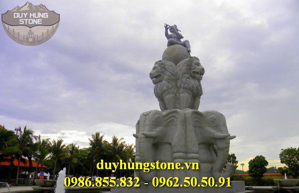 Tượng đài bằng đá khối đà nẵng 13