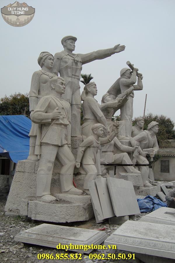 Tượng đài bằng đá khối đà nẵng 18