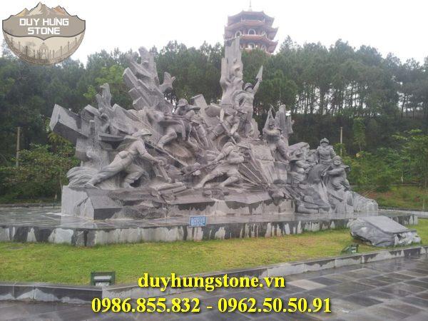 Tượng đài bằng đá khối đà nẵng 7