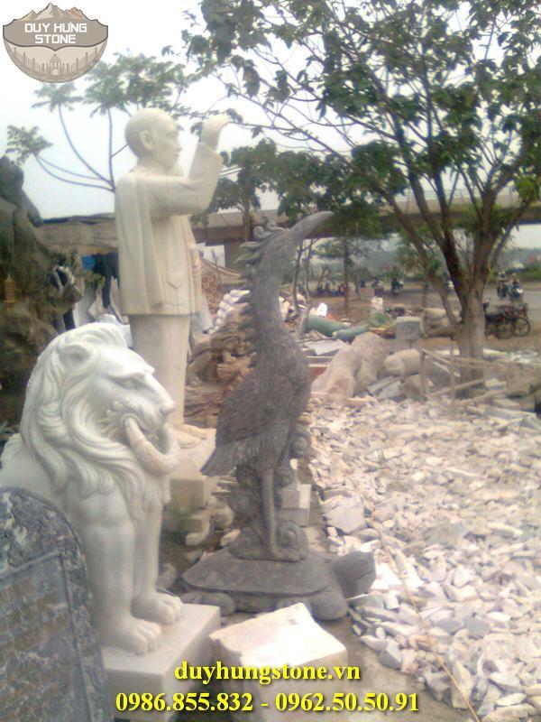 Tượng danh nhân bằng đá nguyên khối đà nẵng 14