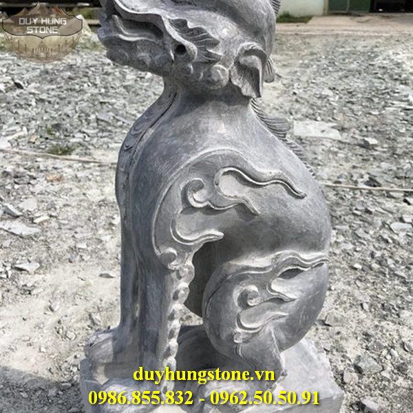 nghê đá thuần việt nghê đá cổ 9