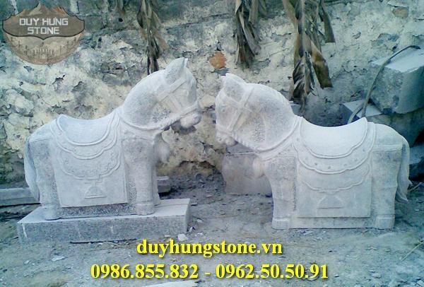 ngựa đá nhiều mẫu mã đẹp 1