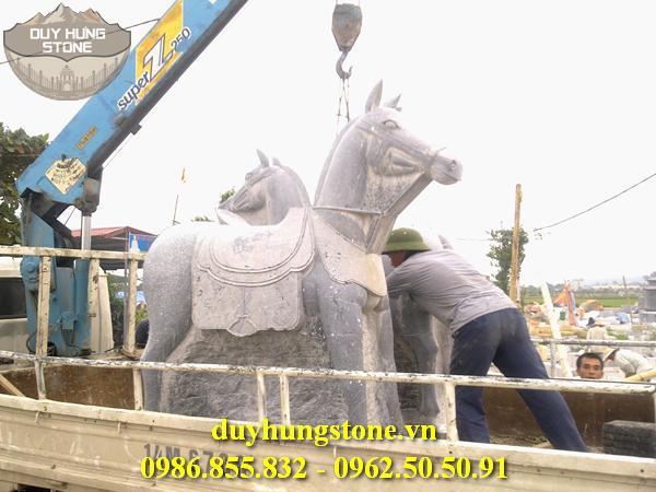 ngựa đá nhiều mẫu mã đẹp 2