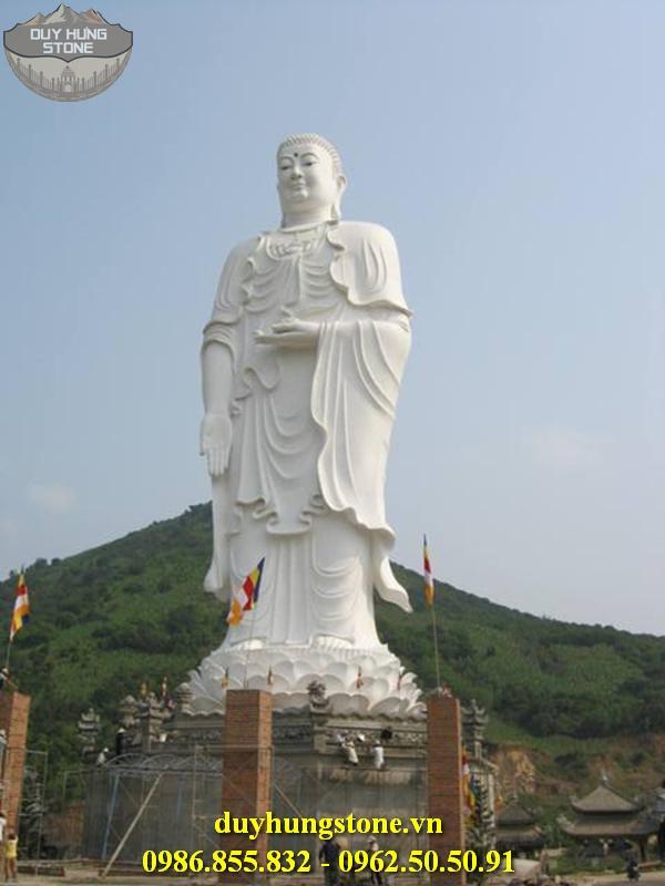 Tượng Phật A Di Đà bằng đá non nước đà nẵng 1