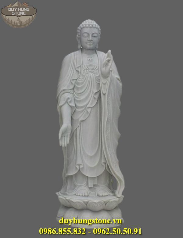 Tượng Phật A Di Đà bằng đá non nước đà nẵng 10