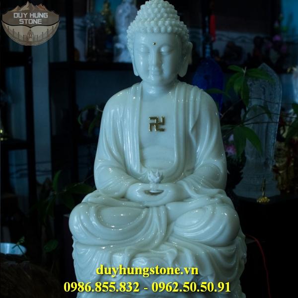 Tượng Phật A Di Đà bằng đá non nước đà nẵng 13