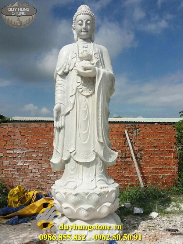 Tượng Phật A Di Đà bằng đá non nước đà nẵng 16