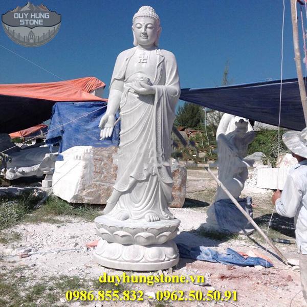 Tượng Phật A Di Đà bằng đá non nước đà nẵng 18