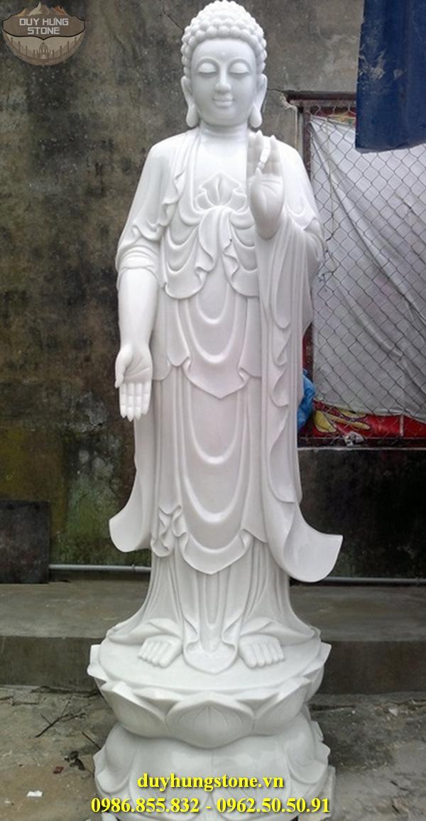 Tượng Phật A Di Đà bằng đá non nước đà nẵng 21