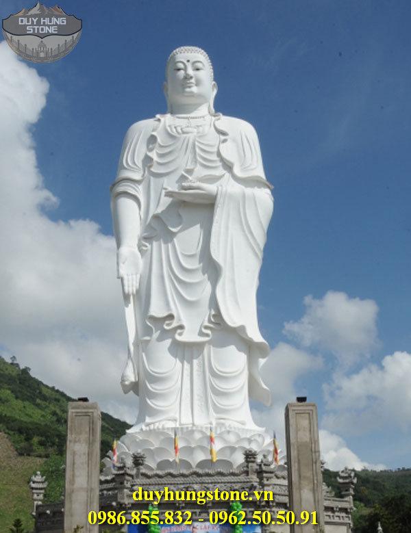Tượng Phật A Di Đà bằng đá non nước đà nẵng 3