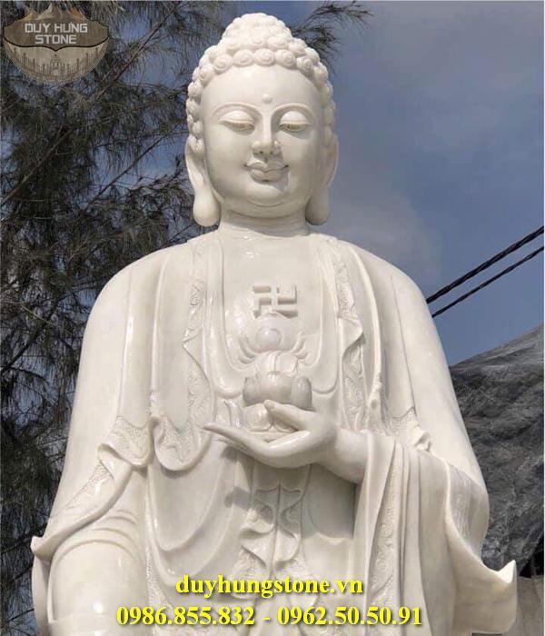 Tượng Phật A Di Đà bằng đá non nước đà nẵng 4