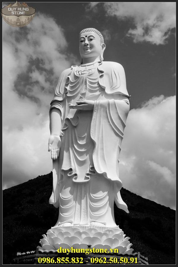 Tượng Phật A Di Đà bằng đá non nước đà nẵng 6